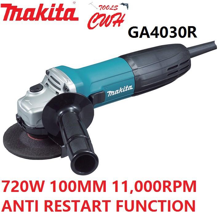 MAKITA GA4030R 100MM 720W ANGLE GRINDER CUTTER GA 4030 R GA4030 R