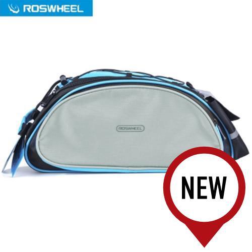 Bicycle Bags & Panniers The Best Roswheel 13l Bicycle Rear Rack Shelf Bag Pannier Pack Shoulder Handbag Sports & Entertainment