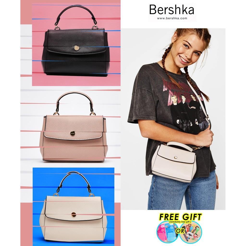 Bershka Authentic Small handbag with handle-READY STOCK  f5655ee786236