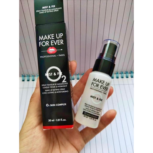 Make Up For Ever Mist And Fix Makeup