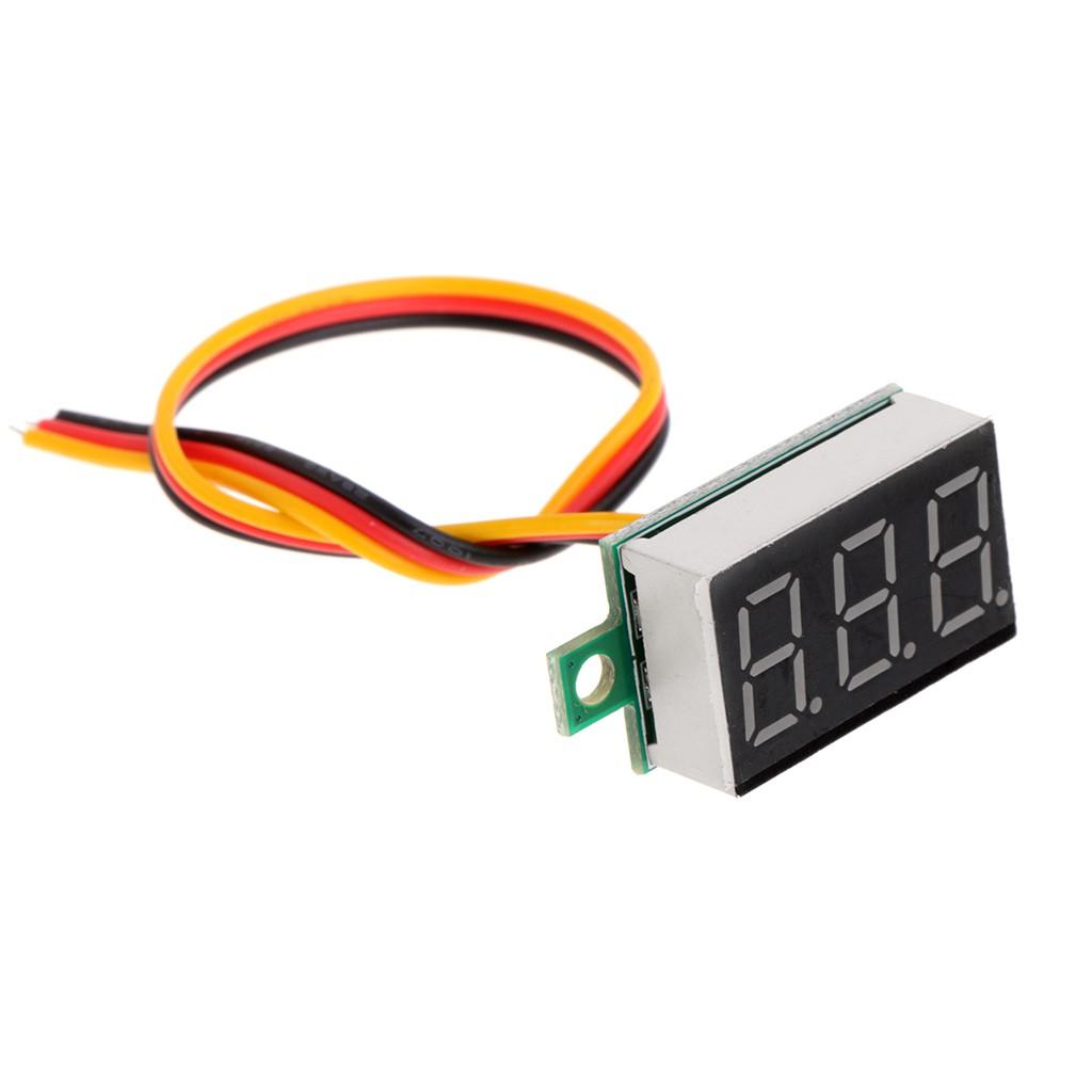 0.36/'/' Digital DC0-100V LED Display Three Wires Voltmeter Panel Voltage Meter