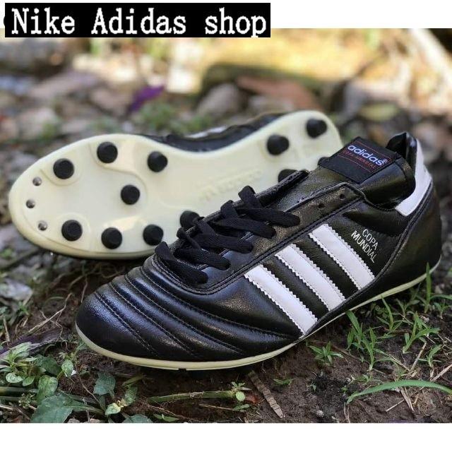 new product f8214 2bed0 Zapatos Adidas Botas de fútbol Copa Mundial FG brotes de metal zapatos de  fút74   Shopee Malaysia