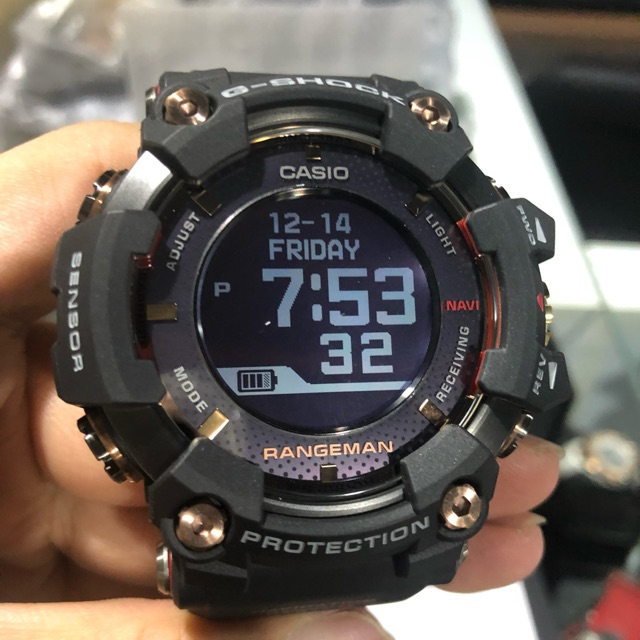 premium selection 4ab2b 21f1d Casio G-Shock 35th Anniversary Magma Ocean Series Rangeman GPRB1000TF-1