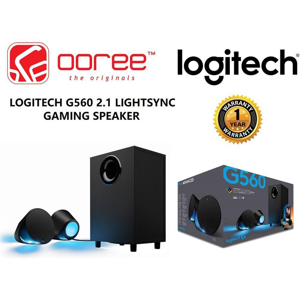 GENUINE LOGITECH G560 2 1 LIGHTSYNV GAMING SPEAKER