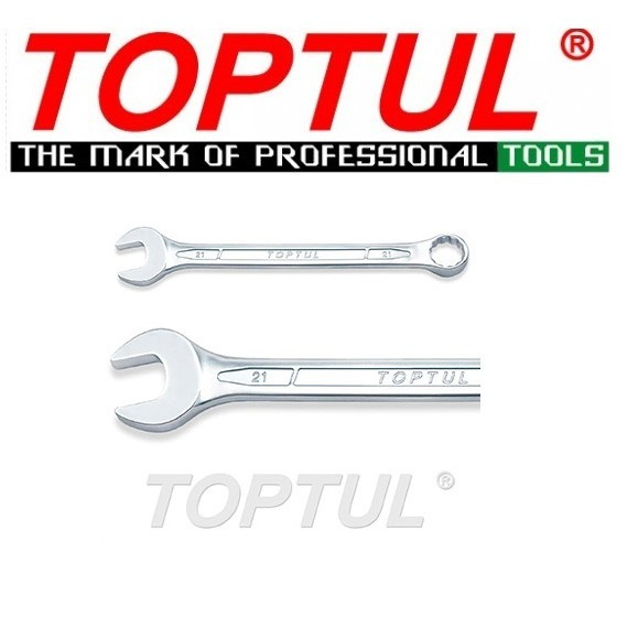 Toptul STANDARD COMBINATION WRENCH 15° OFFSET (29mm-50mm)