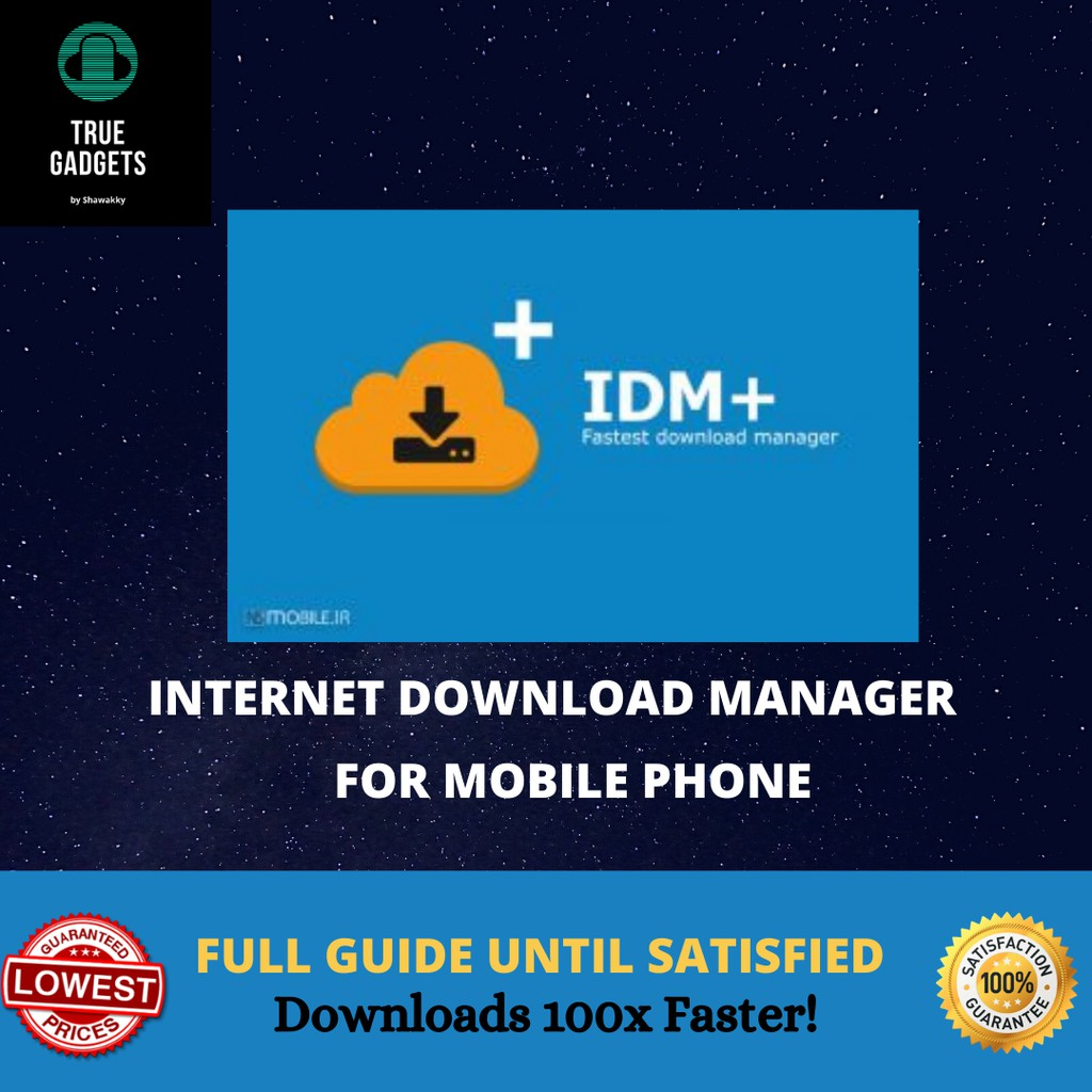 ANDROID] Internet Download Manager IDM+ For Mobile Phone APK ...