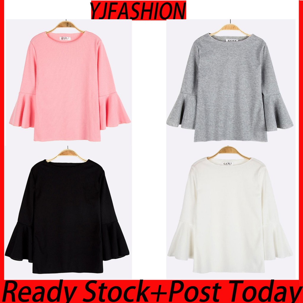 d5fa995250 Buy Tops Online - Women Clothes | Shopee Malaysia