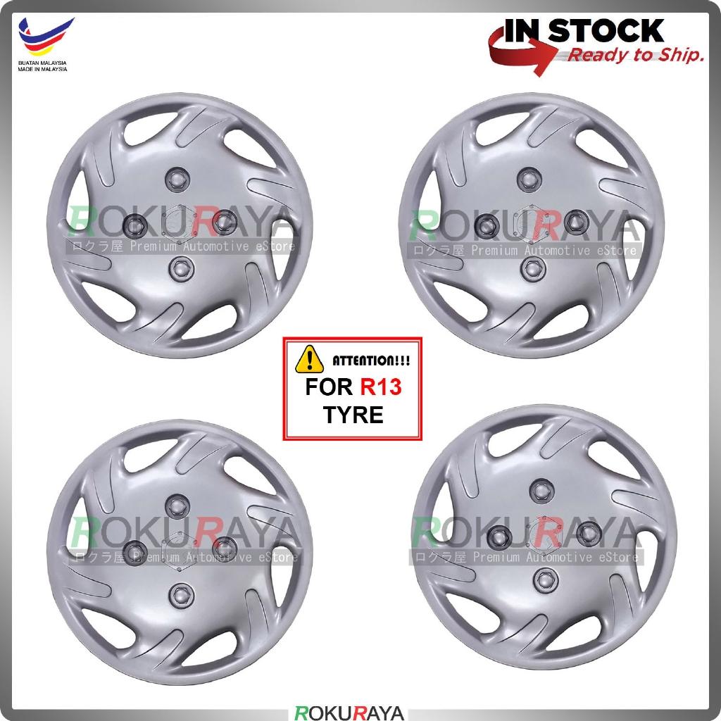 Universal R13'' Inch Car Wheel Cover Tyre Center Hub Cap Steel Rim (Wira New Design)