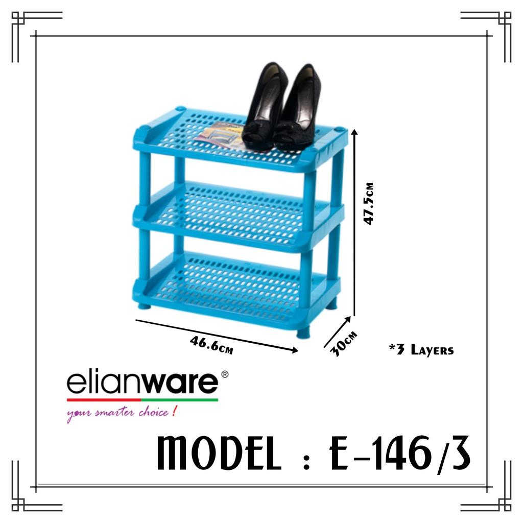 Elianware 3 Tier Stage Shoe Rack