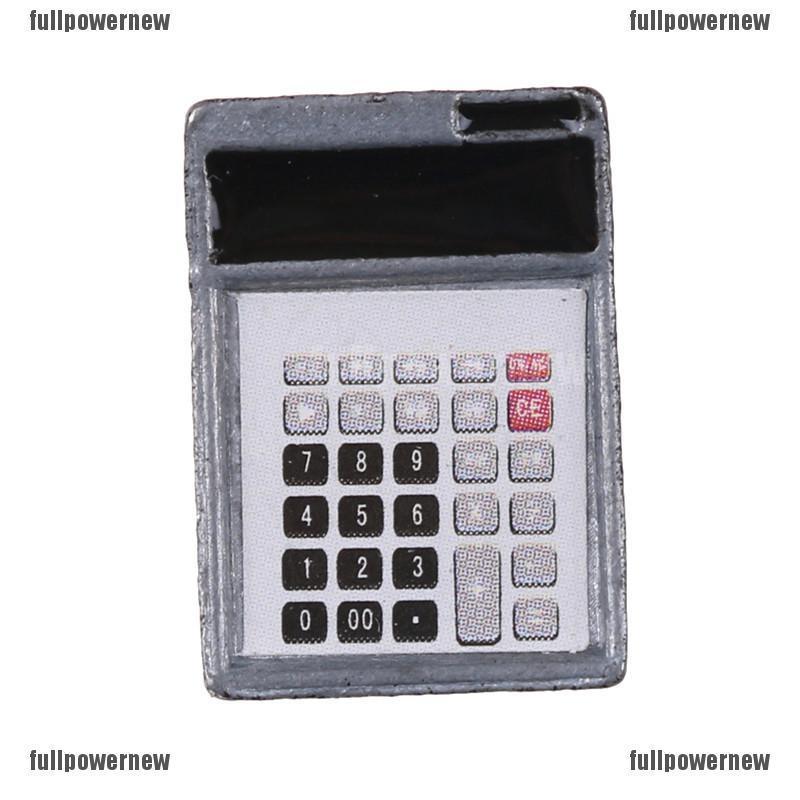 1:12 Dollhouse Metal Calculator Home Office School Miniature  Accessory Decor