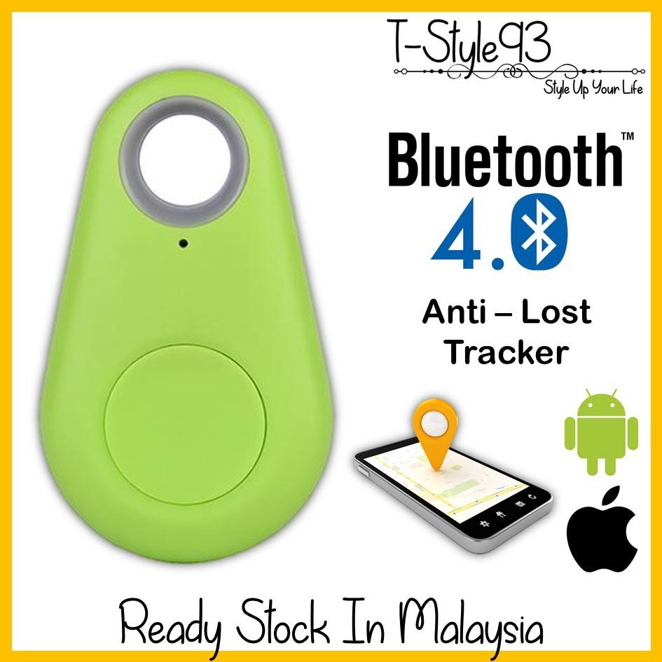ITag Bluetooth Tracker Keychain Key Finder GPS Anti-Lost Alarm [GREEN]