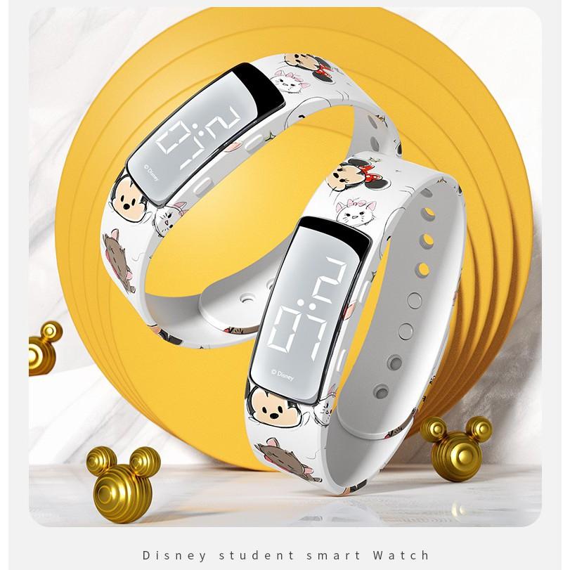 Disney 迪士尼手表女涂鸦手环智能运动初中生男学生 (中文版)