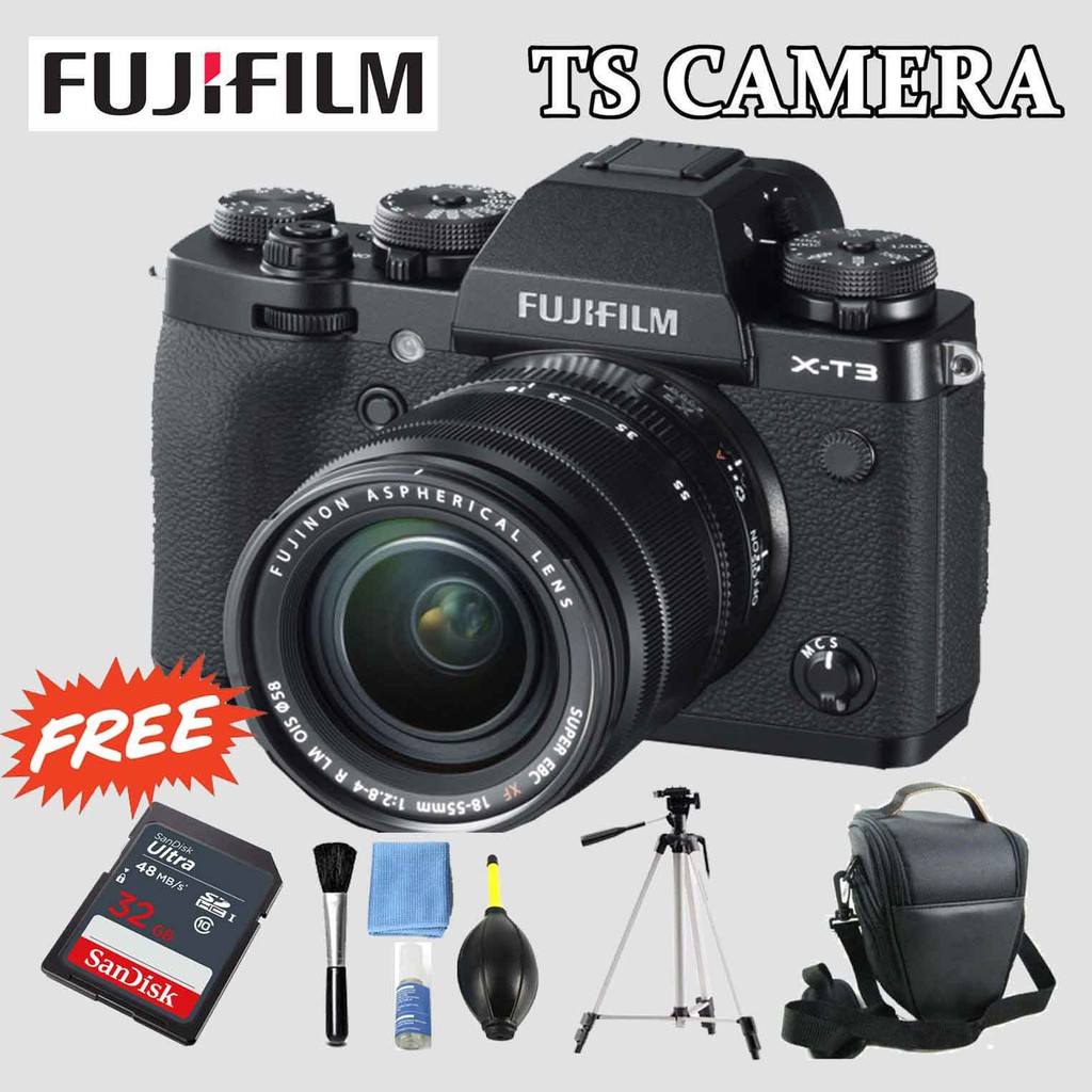 FUJIFILM XT3 MIRRORLESS CAMERA 1 YEAR WARRANTY FUJIFILM MALAYSIA)
