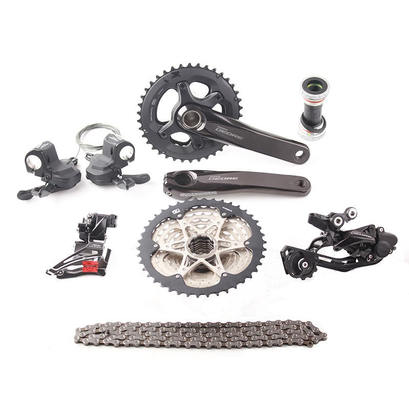 191a137cedf New SHIMANO Deore M610 2x10 Speed MTB Double Groupset 7 pcs 38-24T | Shopee  Malaysia