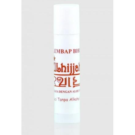 Pelembap Bibir Zulhijjah, (Minyak Zaitun, Aloe Vera)