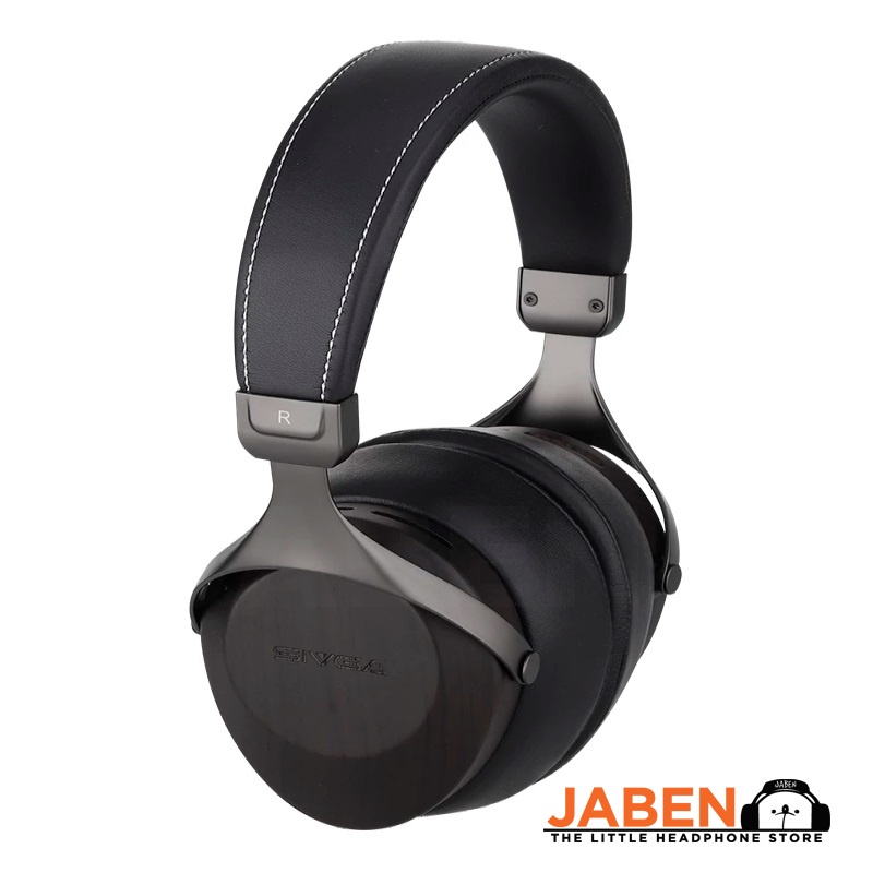 SIVGA SV021 50mm Dynamic Driver Rosewood Housing Detachable Cable Closed Back Over-Ear Headphones [Jaben]