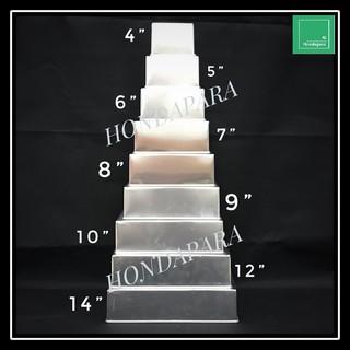 6 7 8 9 10 Inch Square Cake Pan Loyang Kek Segi Empat