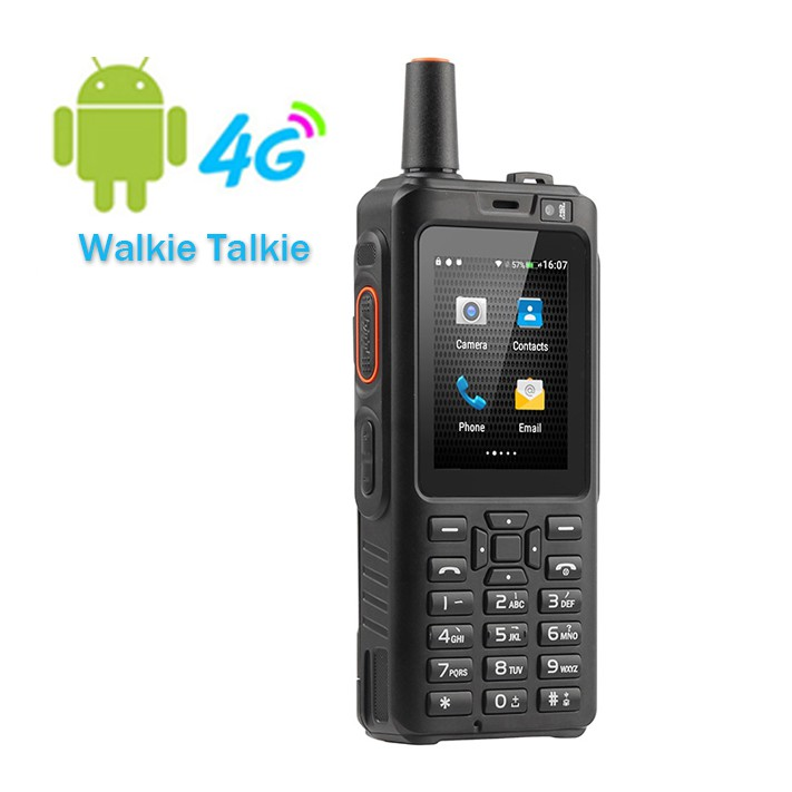 F40 Zello Walkie Talkie 4G Mobile Phone IP65 Waterproof Rugged Smartphone  8GB Android Feature Phone