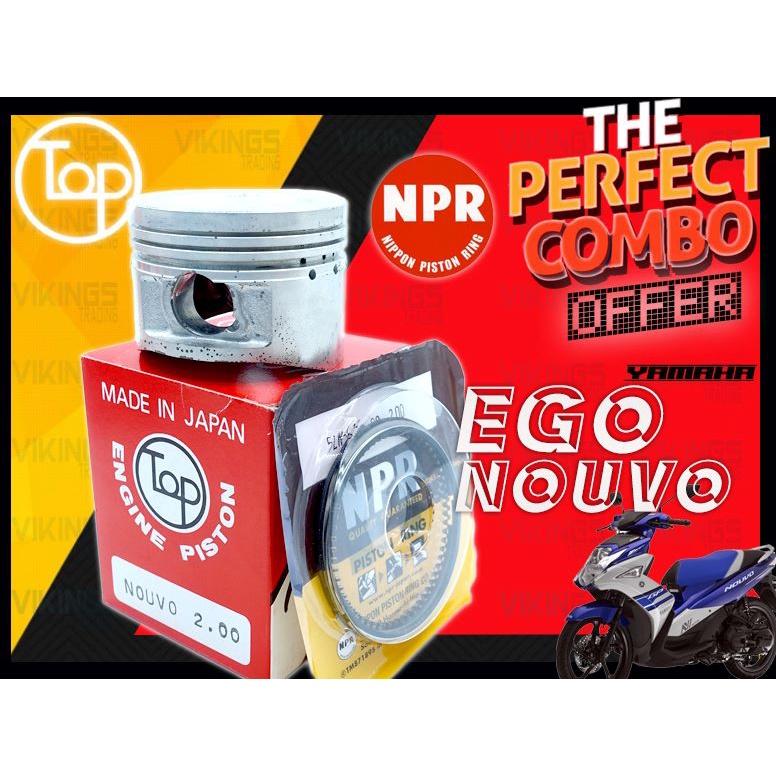 NOUVO EGO AT115 EGO TOP + NPR JAPAN PISTON + RING STD-200