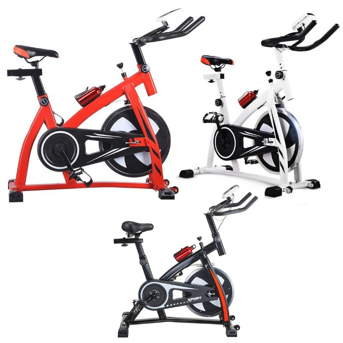 READY STOCK  Fitness Exercise Bicycle Cycling Gym Fitness Spin Bike