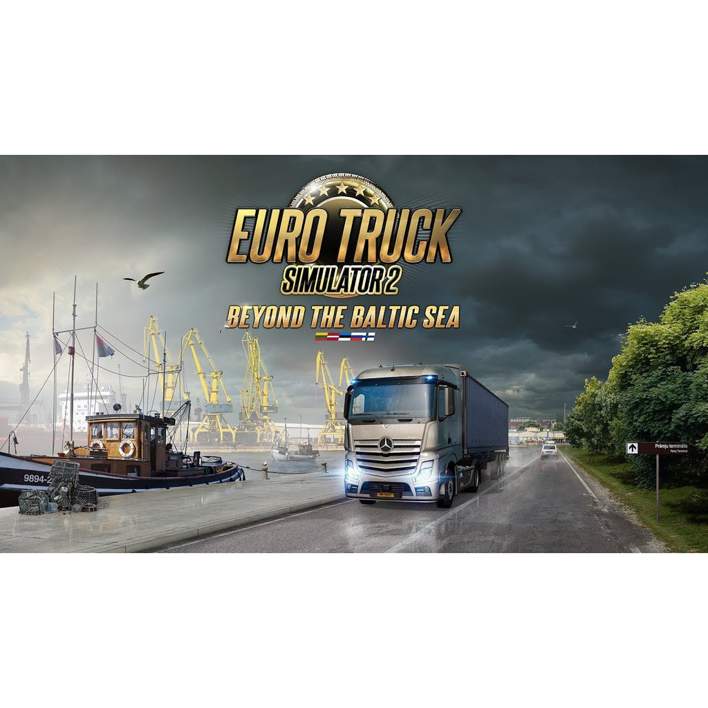 Euro Truck Simulator 2: Beyond The Baltic Sea (PC Offline Only / Download)