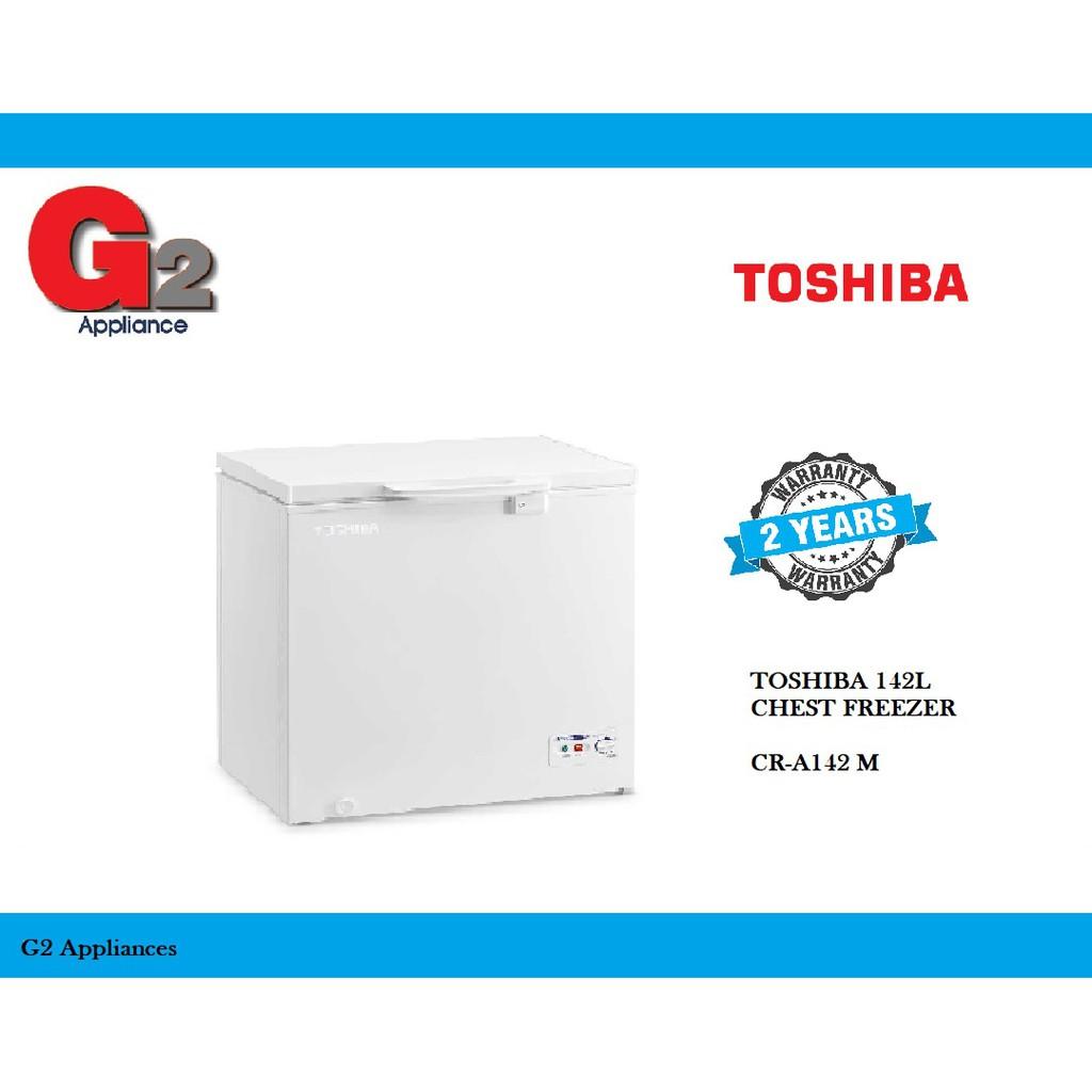 TOSHIBA 142L CHEST FREEZER CR-A142 M