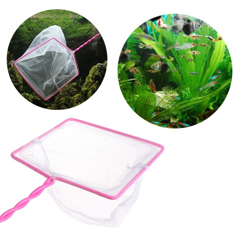Fishing Tank Net Plastic Round Thick Fish Shrimp Capture For Aquarium Shop Tools LARGE