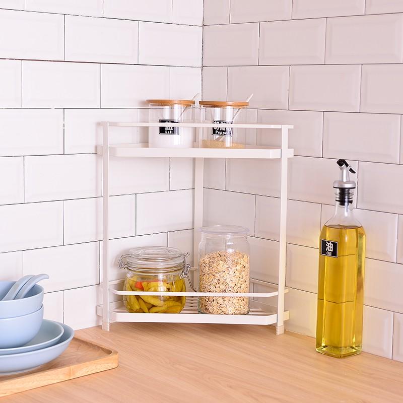 Kitchen Countertop Corner Condiment