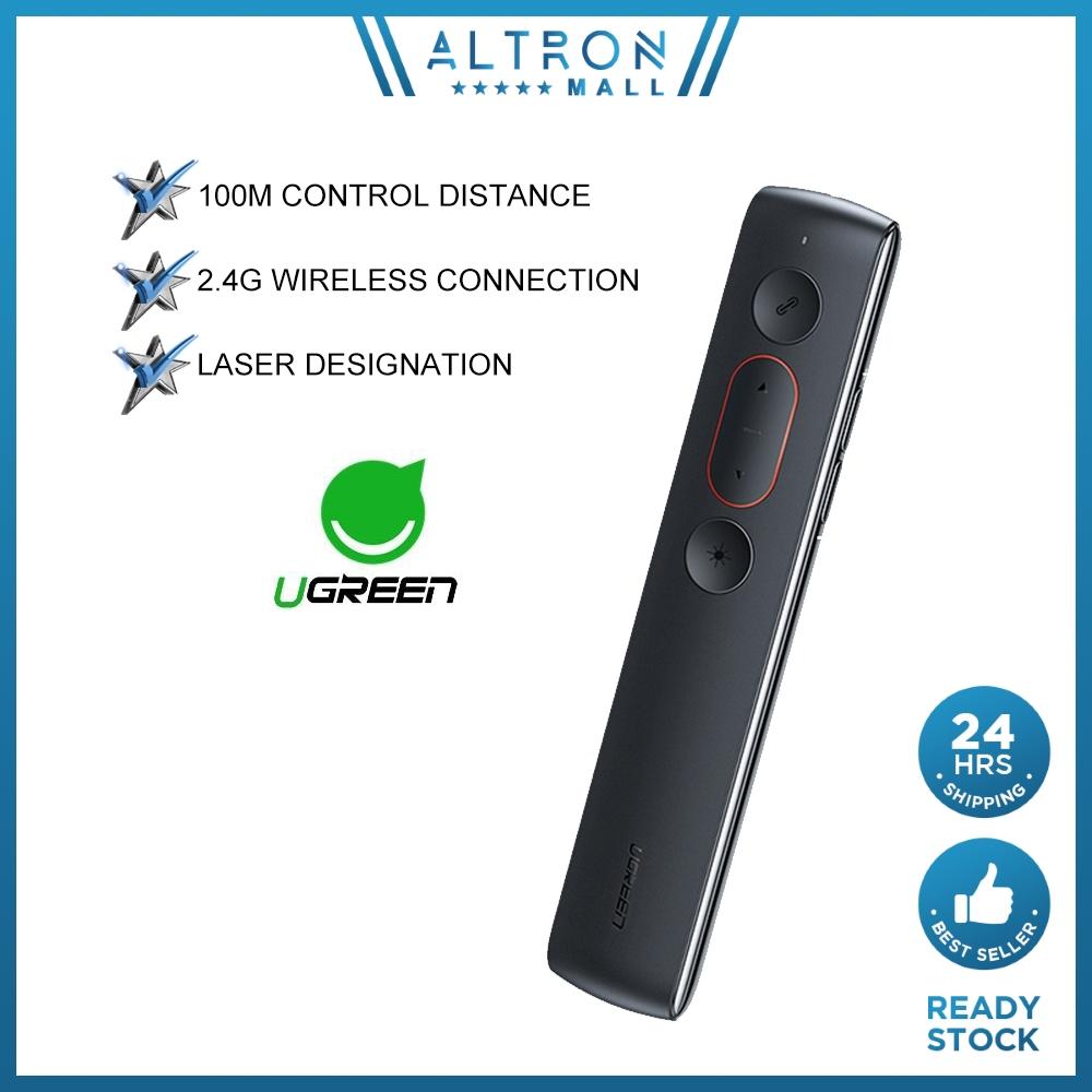 UGREEN Laser Wireless Presentation Remote Controller Presenter USB Control Pen For Mac Window Powerpoint PPT