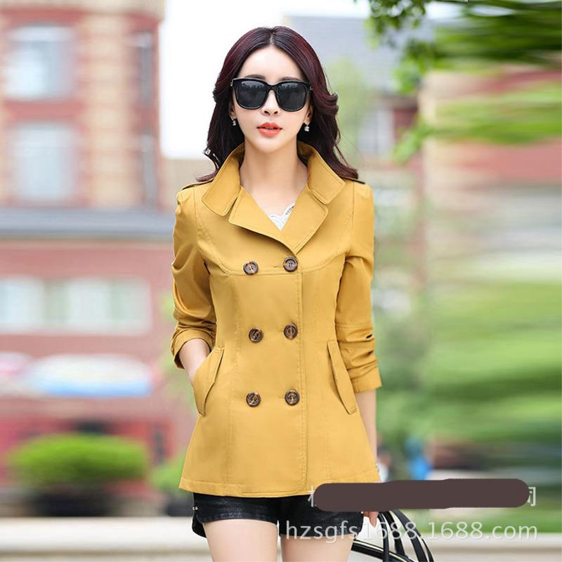 Women Trench Coat Short Slim Fit Long Sleeve L Women Jackets Coats Shopee Malaysia Women's coats, jackets & waistcoats └ women's clothing └ women's clothing, shoes & accessories └ clothes, shoes & accessories all categories antiques art baby books, comics & magazines womens soft black leather trench coat slim fit double breasted hip length jacket. shopee