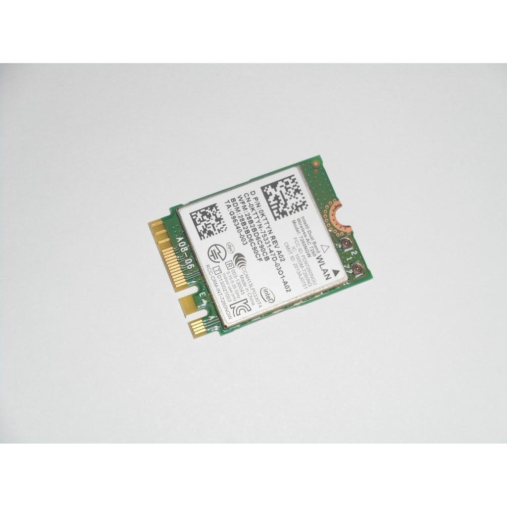 Intel Wireless 7260 WLAN WiFi 802 11 ac/a/b/g/n + Bluetooth 4 0 M 2 CARD  KTTYN