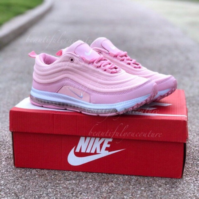 new style a2ed3 a61cd NIKE AIRMAX 97 SOFT PINK SIZE 37-41 READY STOCK MALAYSIA + FREE GIFT