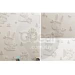 GDeal Cartoon Animal Cute 3D Wall Sticker Children Bedroom Kindergarten Nursery Decoration Waterproof Wallpaper