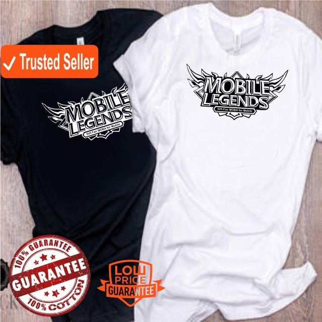 be060f7b9878 Mobile Legends Printed Tee Graphic Shirt Fullprint Round Neck Short Sleeve  | Shopee Malaysia