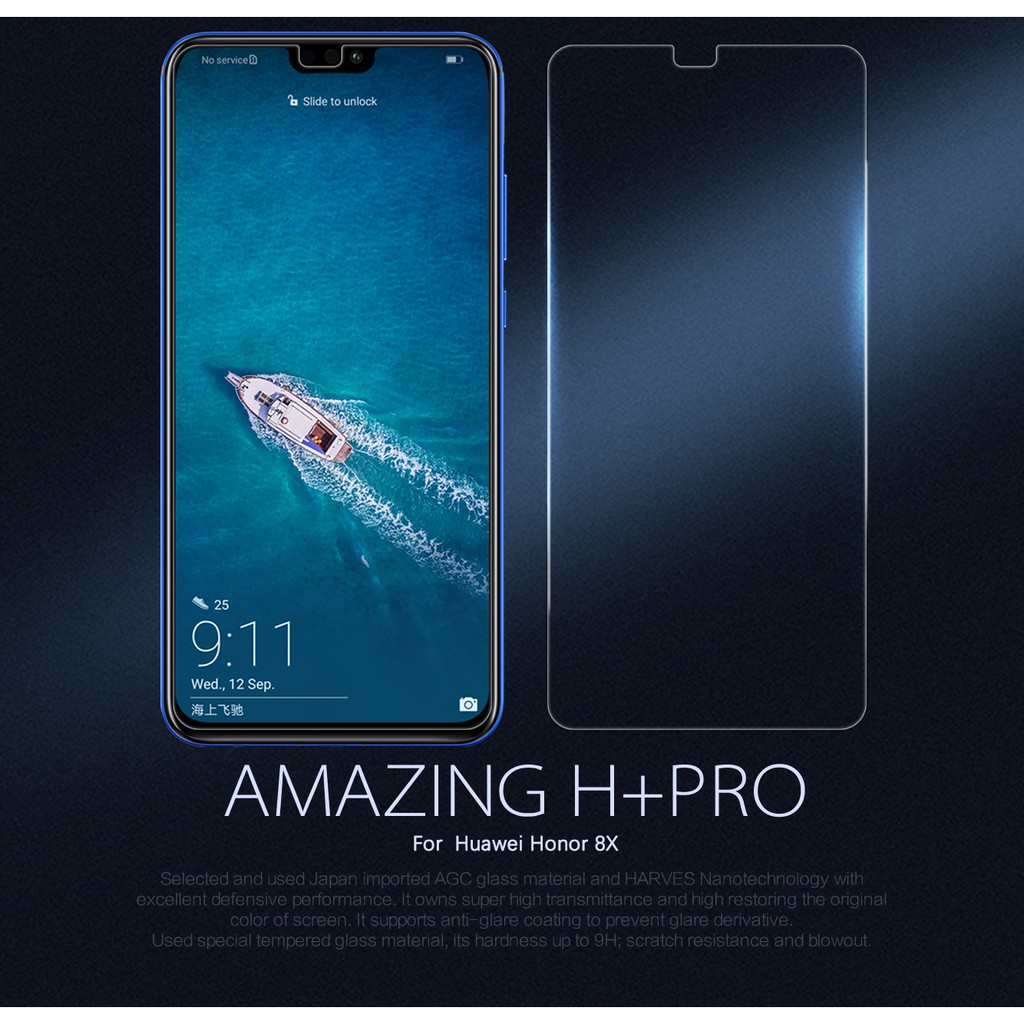 Huawei Honor 8X / Y9 2019 Nillkin Amazing H+ PRO Tempered Glass