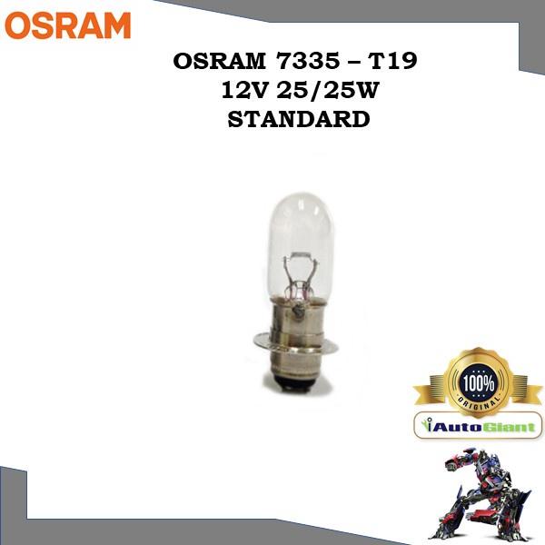 OSRAM 7335 - T19 12V 25/25W STANDARD LAMPU DEPAN MOTOR