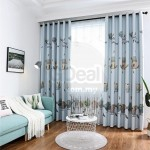 GDeal Transparent Curtains Home Bedroom Living Room Window Tulle Voile Curtain Langsir (100CM x 250CM)