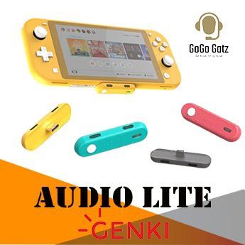 {HTGA-LITE} GENKI Audio Lite USB Bluetooth 5.0  - Nintendo Switch (Gray, Blue, Red, Yellow)