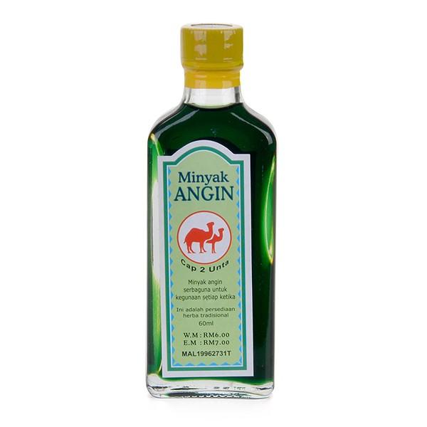 Minyak Angin Cap 2 Unta (60ml)