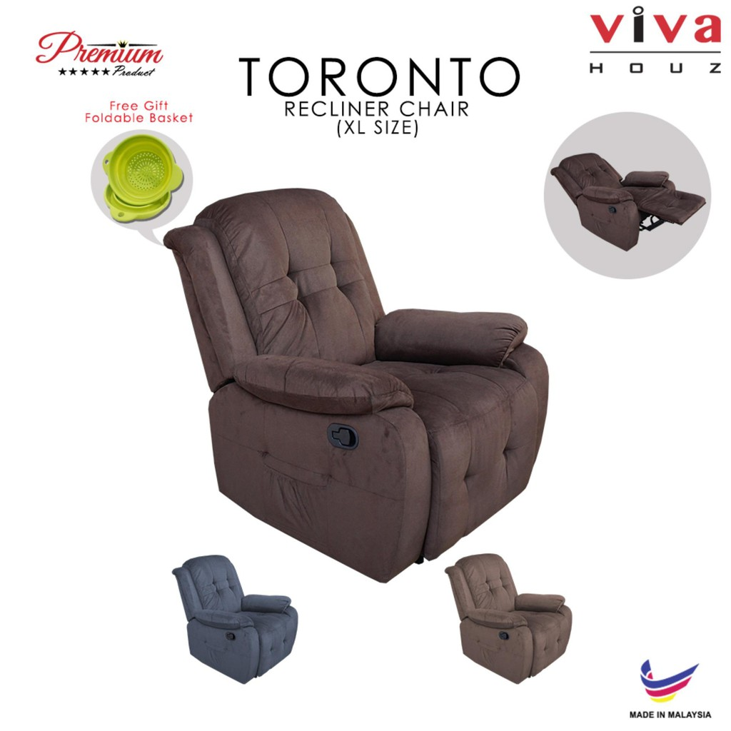 Viva Houz Toronto Single Recliner Sofa