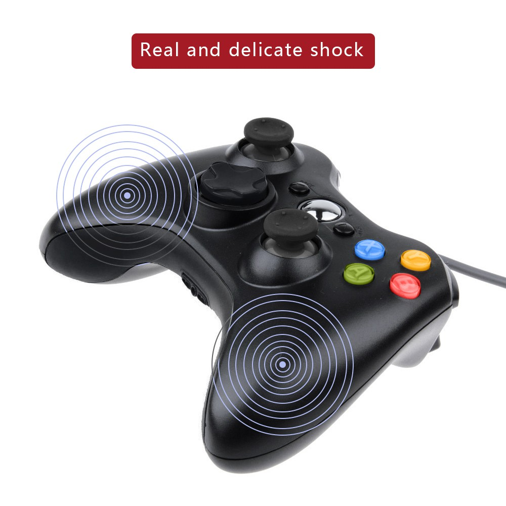 USB Wired Gamepad 360 Controller Joystick For Official