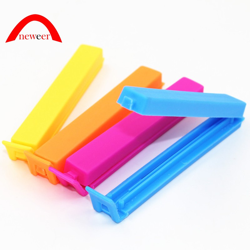d9442598a6277 10 Pcs Portable Kitchen Storage Food Snacks Sealing Clip Plastic Tool Neweer