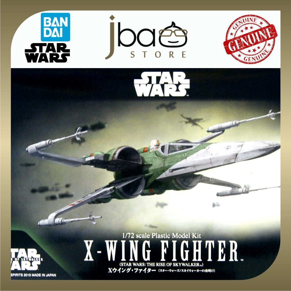 Bandai 1/72 STAR WARS X-WING FIGHTER THE RISE OF SKYWALKER Plastic Model Kit