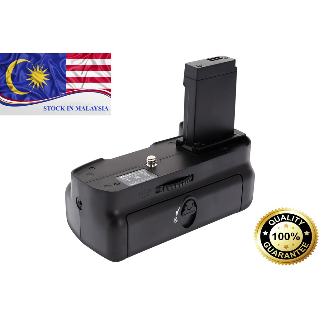 MeiKe MK-1100D Battery Grip for Canon 1100D/1200D/ 1300D/Rebel T3/Kiss X50 (Ready Stock In Malaysia)