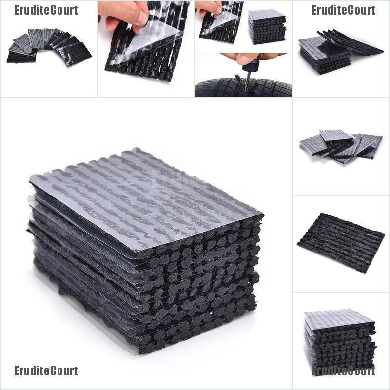10-100X Bicycle MTB Bike Tyre Tire Repair Kits Cycling Tire Puncture Patch Tool