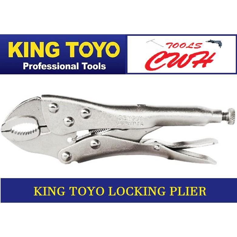 King Toyo Locking Plier STANLEY BONDHUS SATA TOPTUL SATAGOOD M10