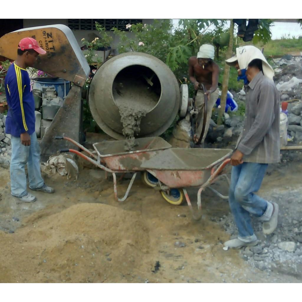 Concrete Mixer Mesin Simen Sewa