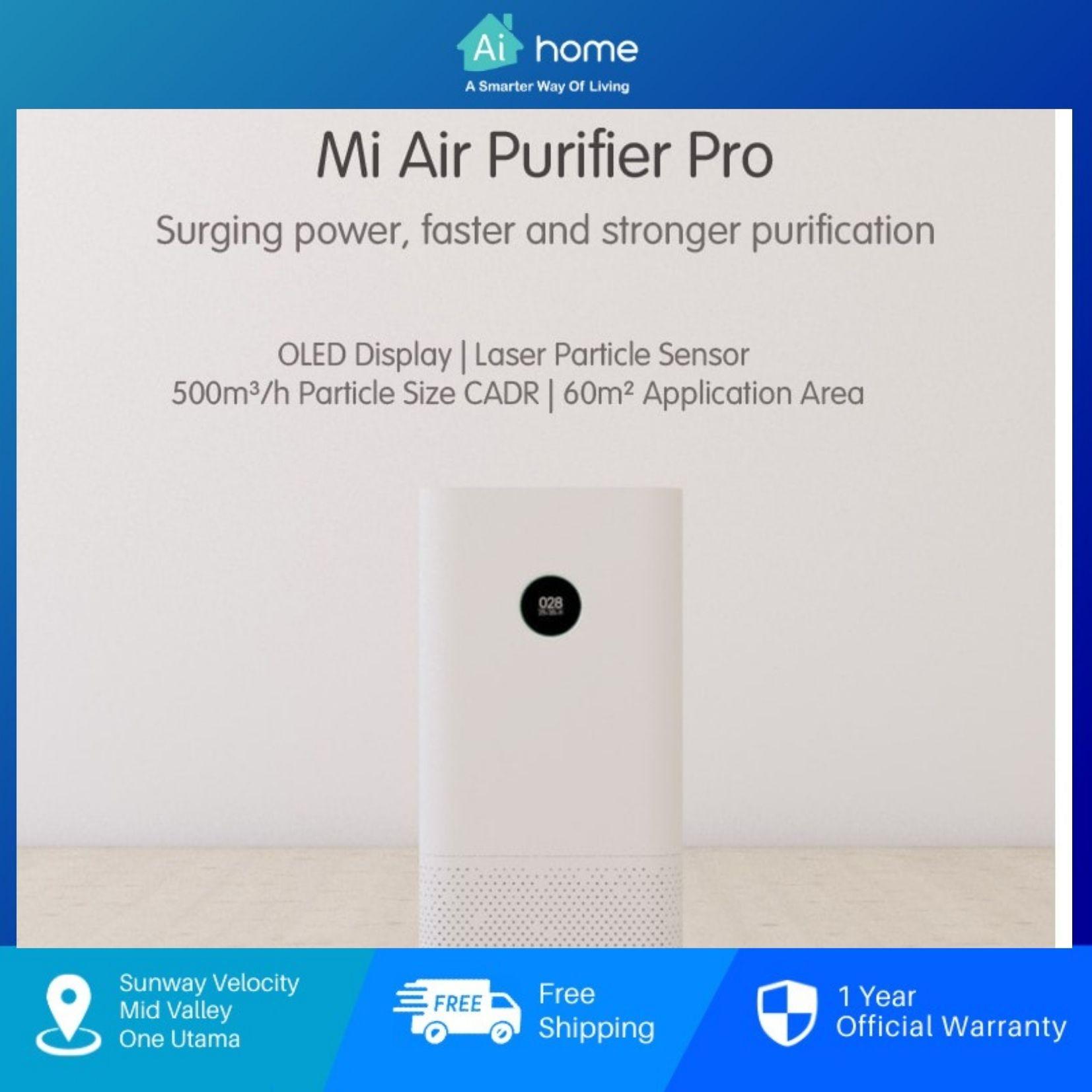 XIAOMI MIJIA Air Purifier PRO (White) with 1 Year Malaysia Warranty [ Ai Home ]