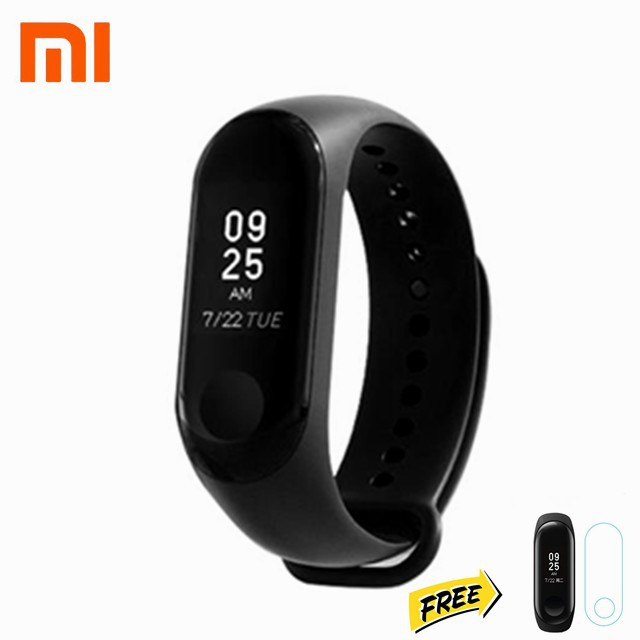 Xiaomi Mi Band 3 Smart Wristband OLED Touch Screen - [Free Screen Protector]