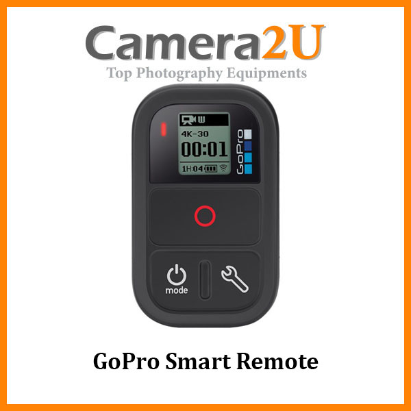 GoPro Smart Remote  (Works with Fusion, HERO7/6/5/4/3/Session)
